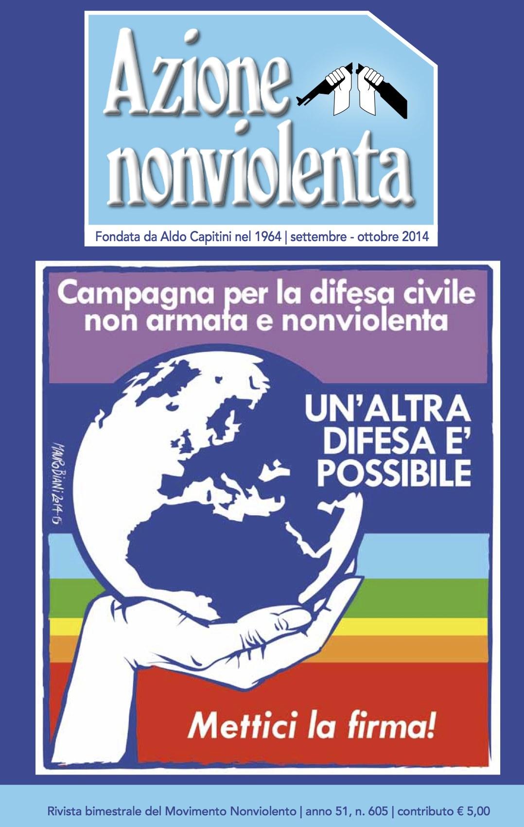 Copertina Azione Nonviolenta speciale