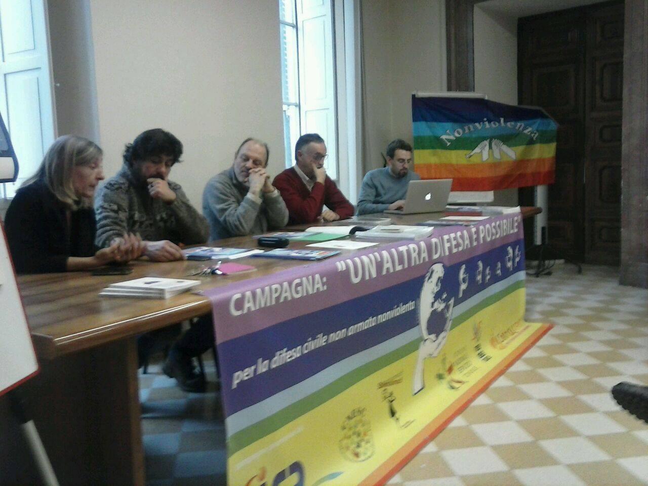 Conferenza Stampa Roma Dicembre 2014