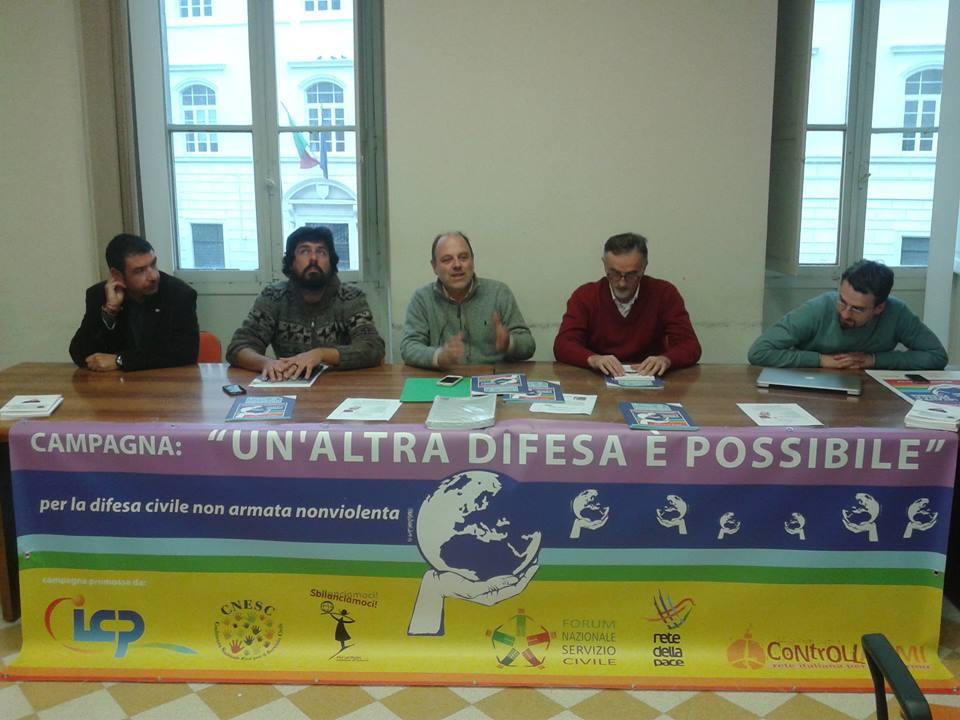 conferenza stampa presso il Cesv, Roma, 15 dicembre 2014