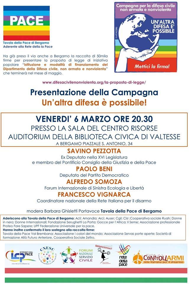 Incontro Bergamo marzo 2015
