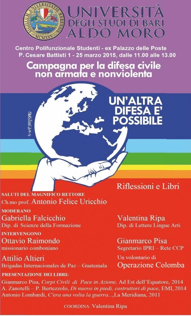 25 marzo 2015 Università Bari