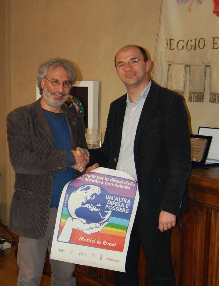 Firma sindaco Reggio Emilia
