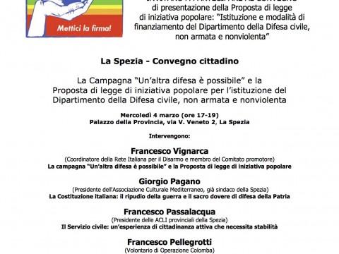 La Spezia 4 marzo