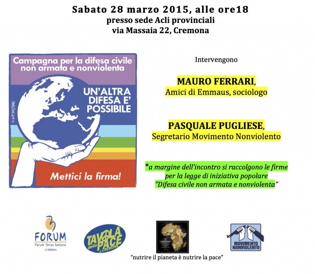 Cremona 28 marzo