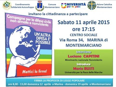 Montemarciano Università Pace