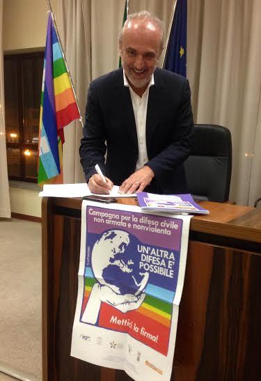 Enrico Bini sindaco di Castelnuovo ne' Monti