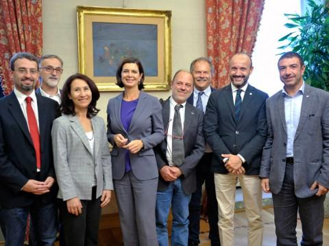Incontro Presidente Boldrini