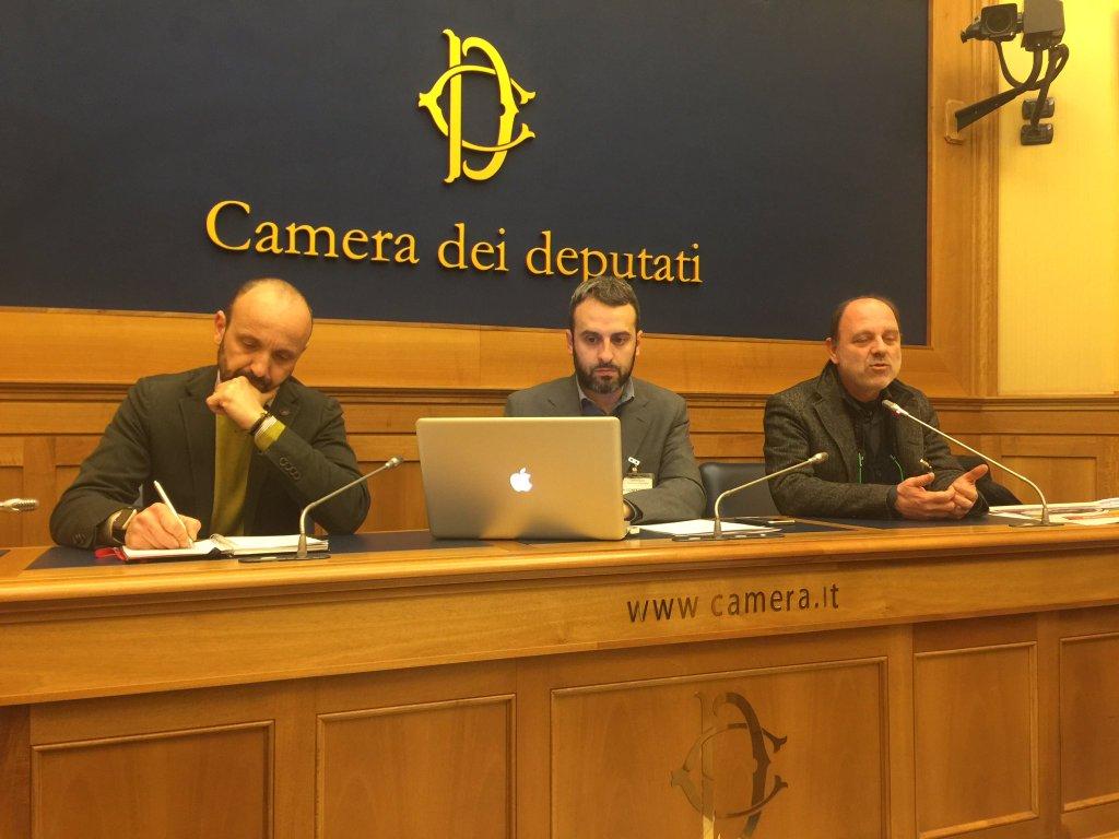 Conferenza Stampa AltraDifesaPossibile Montecitorio 10 febbraio 2016